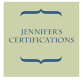 Jennifer's Certifications