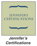 Jennifers Certifications